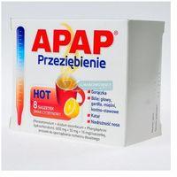 Apap Przeziębienie Hot (ActiFlu Extra C) pr.do p.roztw. (0,65g+0,05g+0,01g)/sasz. 8 sasz. (5909991115425)