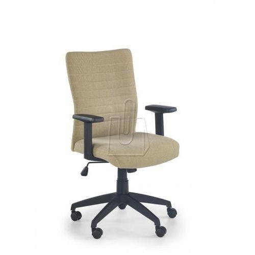 Fotel pracowniczy Halmar Limbo beżowy - gwarancja bezpiecznych zakupów - WYSYŁKA 24H, kolor beżowy