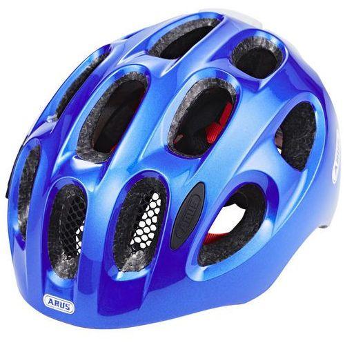 ABUS Youn-I Kask rowerowy Dzieci niebieski M | 52-57cm 2018 Kaski dla dzieci