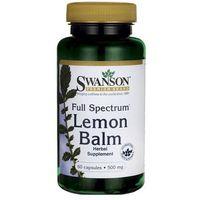 Kapsułki Full Spectrum Lemon Balm (Melisa lekarska) 500mg 60 kaps.