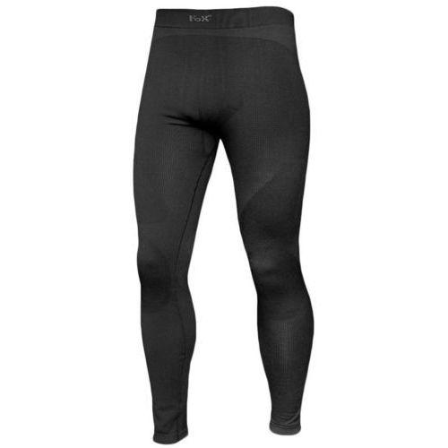 Fox Outdoor Leginsy Termoaktywne Czarne, kolor czarny