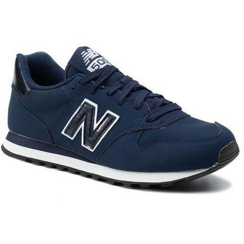 Sneakersy NEW BALANCE - GW500PSN Granatowy, 1 rozmiar