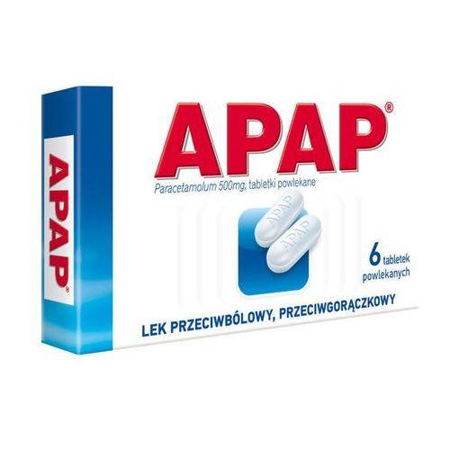 Tabletki APAP 0,5 x 6 tabletek