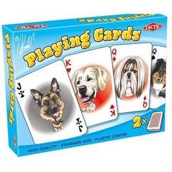- karykatury psów - 2 talie kart - tactic od 24,99zł darmowa dostawa kiosk ruchu marki Tactic