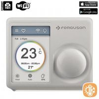 Ferguson  termostat wi-fi - programowalny regulator temperatury, wi-fi (ios & android)