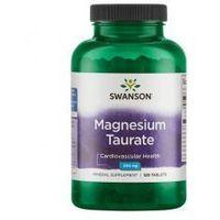 SWANSON Magnesium Taurate 100mg, 120tabl. - Taurynian Magnezu