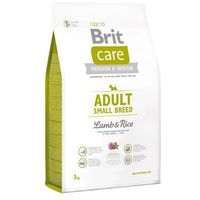 Brit care new adult small breed lamb & rice 3kg (8595602509898)