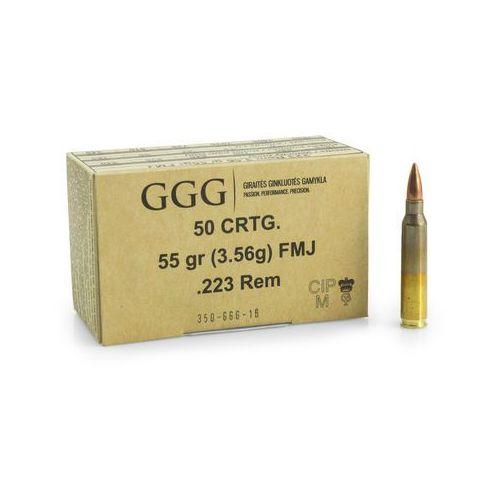 Ggg Amunicja kal.223 rem 55 gr/3,56 g fmj (4779032300209)