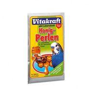 Vitakraft honig perlen - pokarm z miodem dla papugi falistej 20g