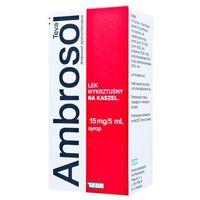 AMBROSOL 0,15 syrop 200ml