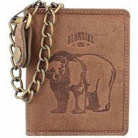 Klondike 1896 Wayne Bear Portfel skórzany10 cm mittelbraun ZAPISZ SIĘ DO NASZEGO NEWSLETTERA, A OTRZYMASZ VOUCHER Z 15% ZNIŻKĄ