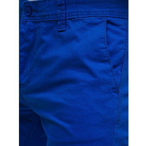 0a59bd36c1109 M.sara Spodnie chinosy męskie niebieskie denley 6807 - Cena & opinie ...