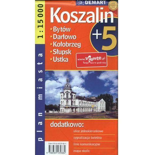 Koszalin plus 5 1: 15 000 plan miasta, Demart