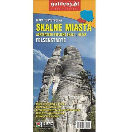 Skalne Miasta Felsenstädt 1:35 000 1:5 000 - Praca zbiorowa (9788378683803)