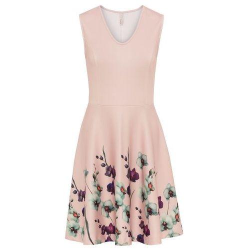 Sukienka beżowy, Bonprix, 32-50