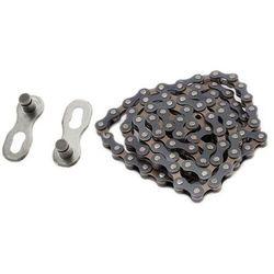 Łańcuch 116 ogniw mtb czarno-brązowy 6-7 biegowy marki Nexelo