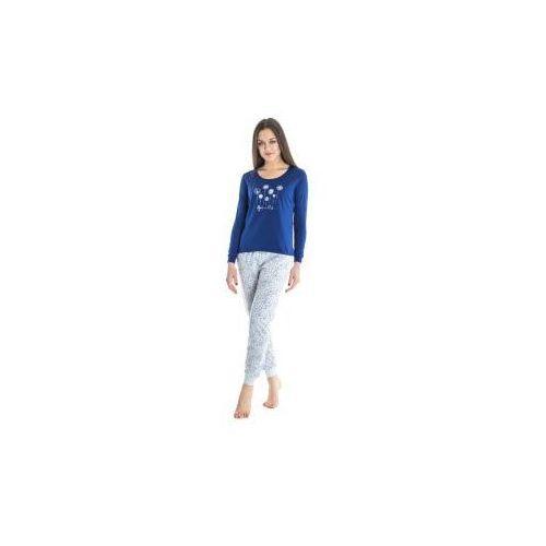 342d83f535e215 Piżama Damska - Granatowa - BH7802, kolor niebieski (Benter) - sklep ...
