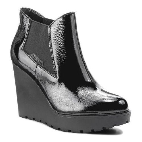 8a059c9bc5566 ▷ Botki JEANS - Sydney R0597 Black (Calvin Klein) - ceny,rabaty ...