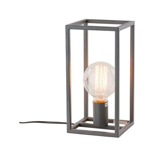 Nietypowy Okaz Stojąca LAMPKA nocna SIGALO MT-BR4366-T1 GR stołowa LAMPA CV07