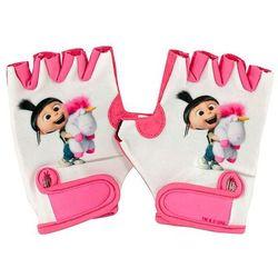 Mimoni Dziecięce rękawice rowerowe minionki fluffy