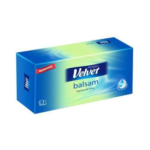 VELVET 70szt Balsam Chusteczki higieniczne pudełko
