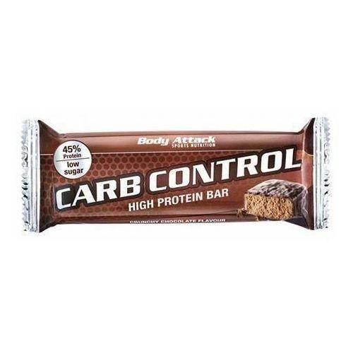 BODY ATTACK Baton Carb Control - 100g - Crunchy Chocolate