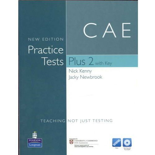 CAE Practice Tests Plus 2 New Edition with Answer Key, iTest CD-ROM & Audio Cds (240 str.)