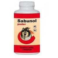 Dermapharm sabunol puder przeciw pchłom i kleszczom dla psa 120g