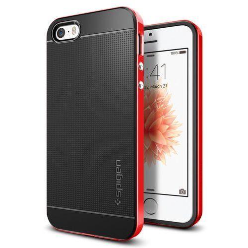 Obudowa Spigen Neo Hybrid Carbon Apple iPhone 5 / 5S / SE Dante red - Dante red (8809466643651)