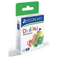 Ecoplast plastry opatrunkowe polimerowe wodoodporne dla dzieci x 16 sztuk marki Alida sp. z o.o.