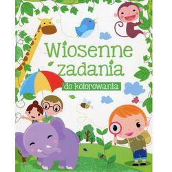 Wiosenne zadania do kolorowania - Białogłowska-Piwko Beata