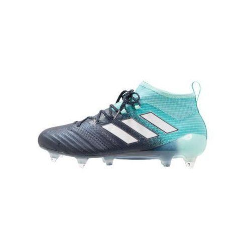 Adidas Performance ACE 17.1 SG Korki wkręty energy aqua/footwear white/legend ink