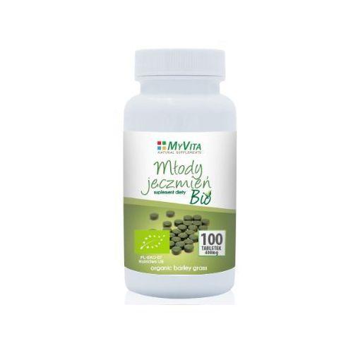 Młody jęczmień Bio tabletki 400mg - 100tab (5903111710996)
