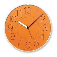 Zegar ścienny Awa Cara pomarańczowa tarcza (4260278081590)