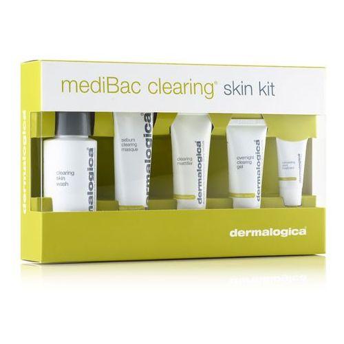 Dermalogica medibac clearing acne | zestaw do skóry tłustej i trądzikowej