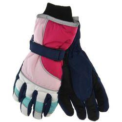 Rękawiczki narciarskie dla dzieci - kolorowy ||pudrowy róż marki Scorpio