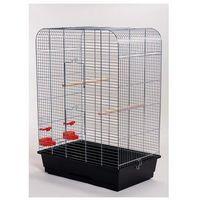 Inter-zoo nina p066 klatka chrom z grzędą dla ptaków 54x38x75 cm marki Inter zoo