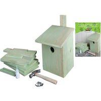 Esschert Design DIY Domek dla ptaszków, 21,3x17x23,3 cm, KG52 (8714982026256)