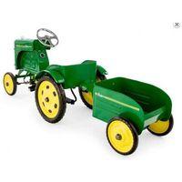 Traktor z przyczepą , traktor na pedały, marki Baghera