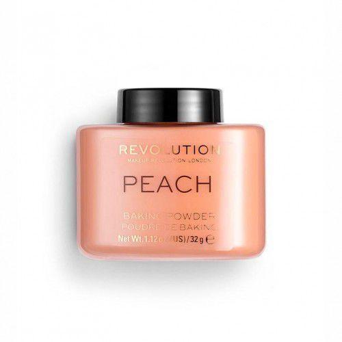 Makeup revolution london baking powder puder 32 g dla kobiet peach (5057566078160)