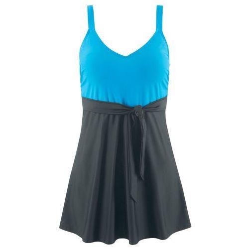 866e5f07c69596 ▷ Sukienka kąpielowa czarno-turkusowy, kolor czarny (bonprix ...