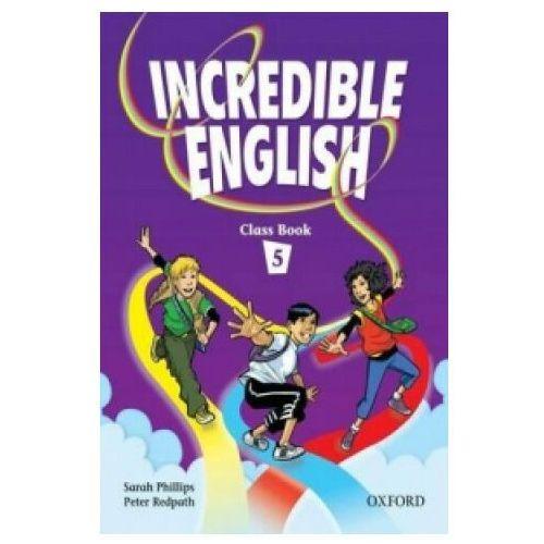 Incredible English Class book 5, oprawa miękka