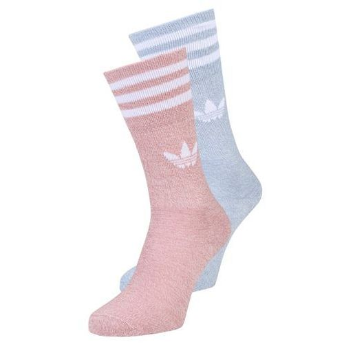 Adidas Originals SOLID CREW 2 PACK Skarpety rawpin/offwhite/tacblu