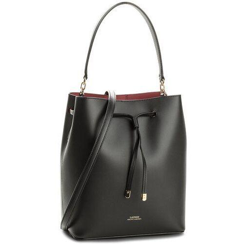 108c7a8f5f174 Torebka - dryden9001 medium black/red (Lauren Ralph Lauren) opinie + ...