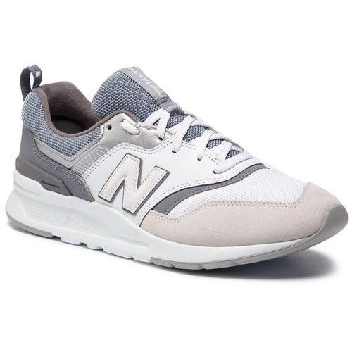 Buty NEW BALANCE - CW997HED Biały Szary, kolor szary