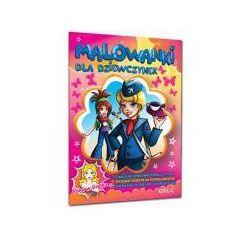 Malowanki dla dziewczynek; *kolorowe ilustracje | naklejki - super dodatek*