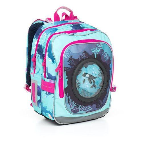 Plecak szkolny chi 790 d - blue marki Topgal