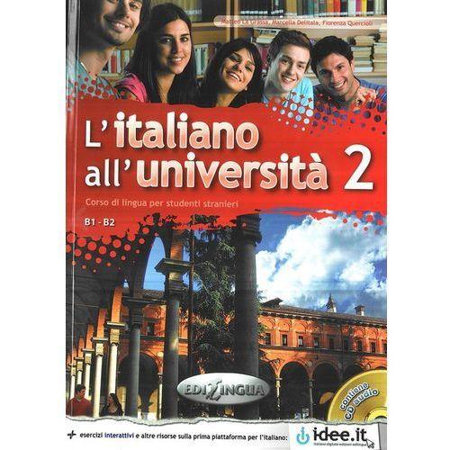 Italiano allUniversita 2 podręcznik ćwiczenia CD audio (9789606930690)