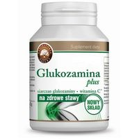 Tabletki Glukozamina Plus (siarczan glukozaminy + Witamina C) 180 tabl.