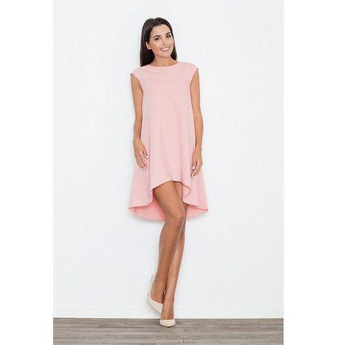 7d5706727c Sukienka M450 Róż XL (Figl) opinie + recenzje - ceny w AlleCeny.pl